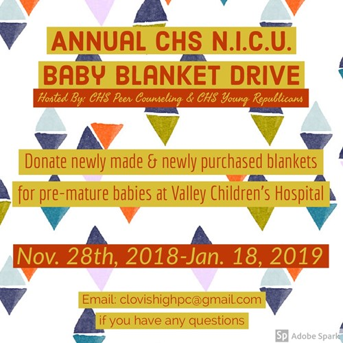 Baby Blanket Flyer