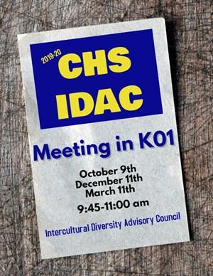 IDAC Invitation Flyer