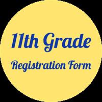 11th grade registration form button