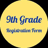 9th grade registration form button