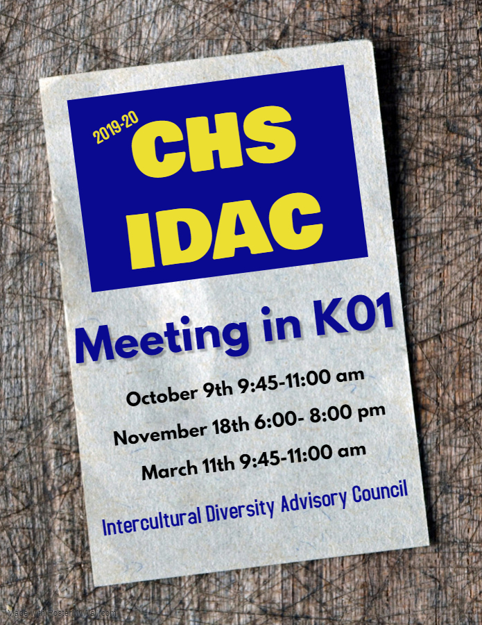 IDAC Invitation Flyer