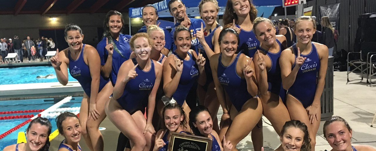 2018 Valley Champion Girls Water Polo