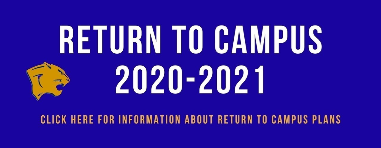 Return to Campus 2020-2021 banner