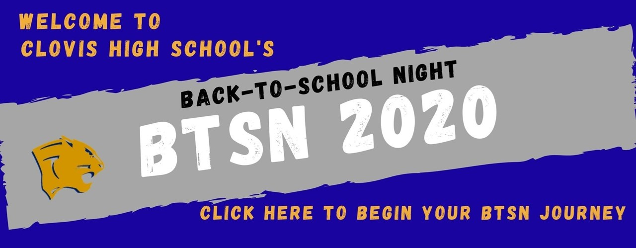 Back to School Night Banner
