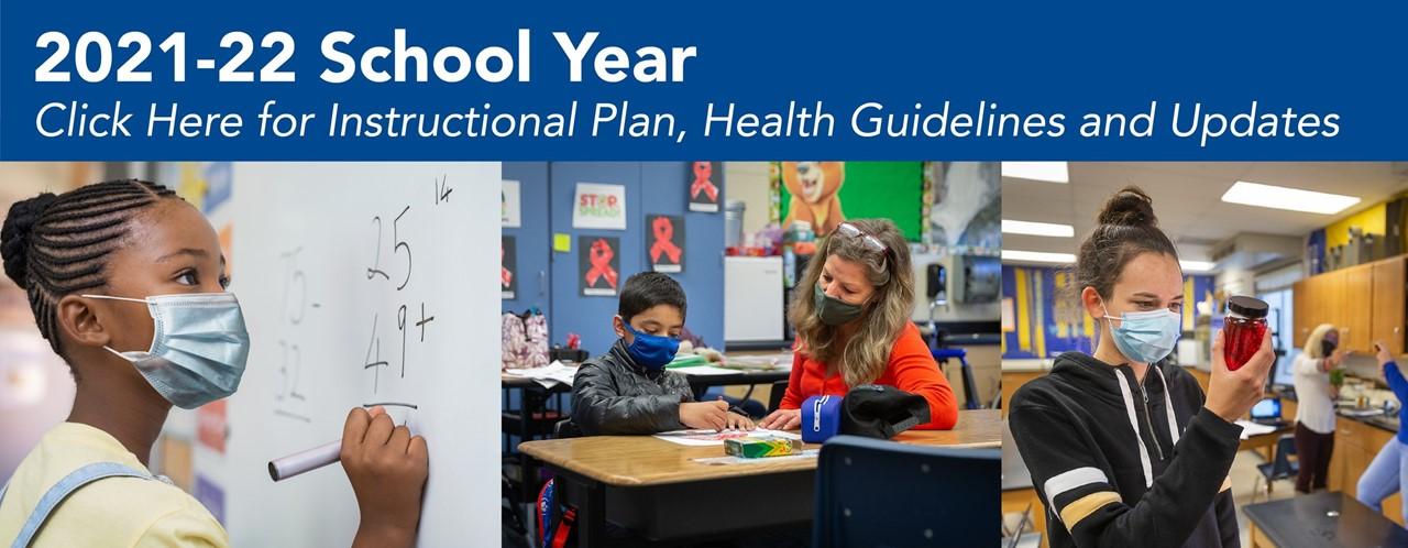 2021-22 School Year Banner