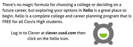 Xello Information Image