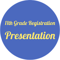 11th grade registration presentation button