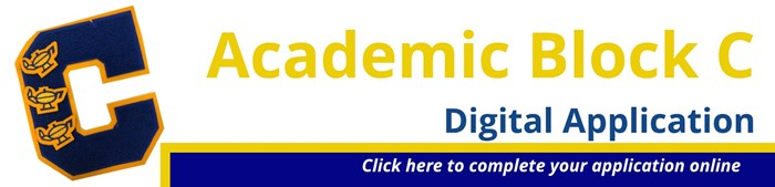 Academic Block C Digital Application Banner: Click here to apply!