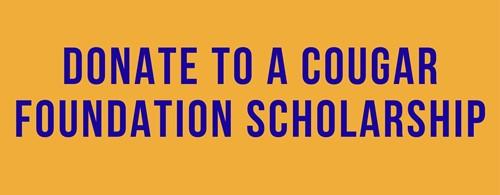 Cougar Foundtion Scholarship Button